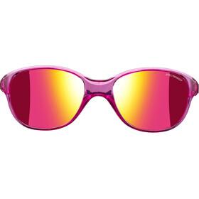 Julbo Romy Spectron 3CF Okulary przeciwsłoneczne 4-8 lat Dzieci, translucent purple-multilayer pink